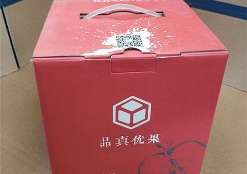 水果彩箱包装